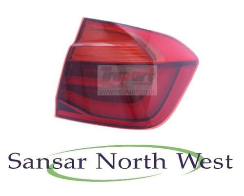 BMW 3 Series F30 Saloon - Drivers Rear Lamp Tail Light Outer LED - O/S RIGHT